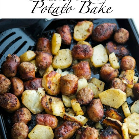 Roasted Italian Sausage & Potato Bake