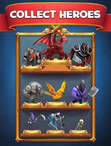 Castle Crush: Clash in Free Strategy Card Games screenshot 3
