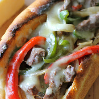 Philly Cheesesteak with Garlic Aioli