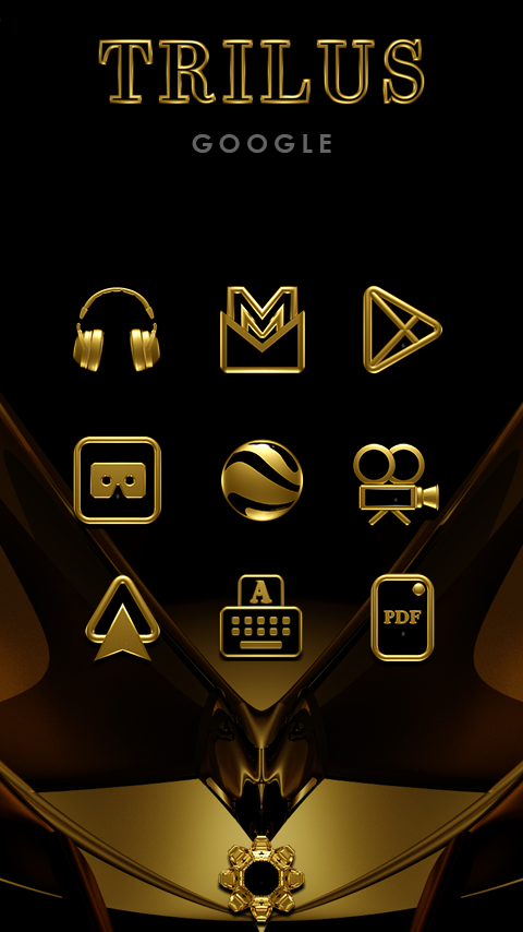 TRILUS Icon Pack Screenshot 1