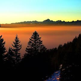 Triglav and Julian Alps, Slovenia by Bernarda Bizjak - Landscapes Mountains & Hills