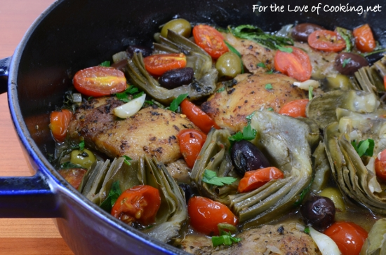 Tuscan Chicken with Artichokes, Tomatoes, and Olives Recipe | Yummly