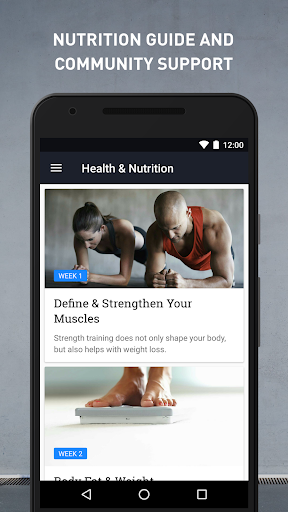 Runtastic Results Home Workouts & Personal Trainer screenshot 4
