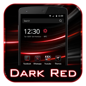 Dark Red HD Backgrounds Icon