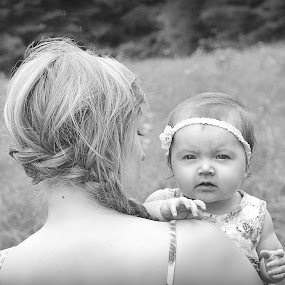 Madison and Mommy by Autumn Horton - People Family