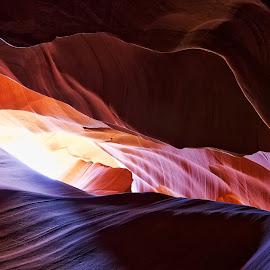 Desert Cave by Howard Noel - Nature Up Close Rock & Stone ( slot canyon, adventure, desert, arizona, travel, cave, antelope canyon )