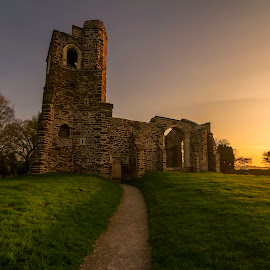 Old church, Clophill, UK by Teddy Domagalski - Buildings & Architecture Decaying & Abandoned