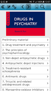 Drugs in Psychiatry, 2nd Ed screenshot for Android