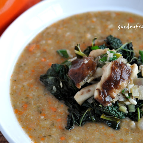 Creamy White Bean and Sage Soup