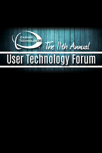 USER TECHNOLOGY FORUM 2016 - screenshot
