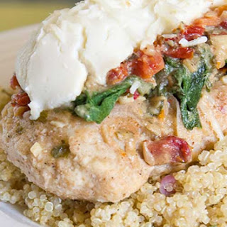 Low Fat Chicken Florentine