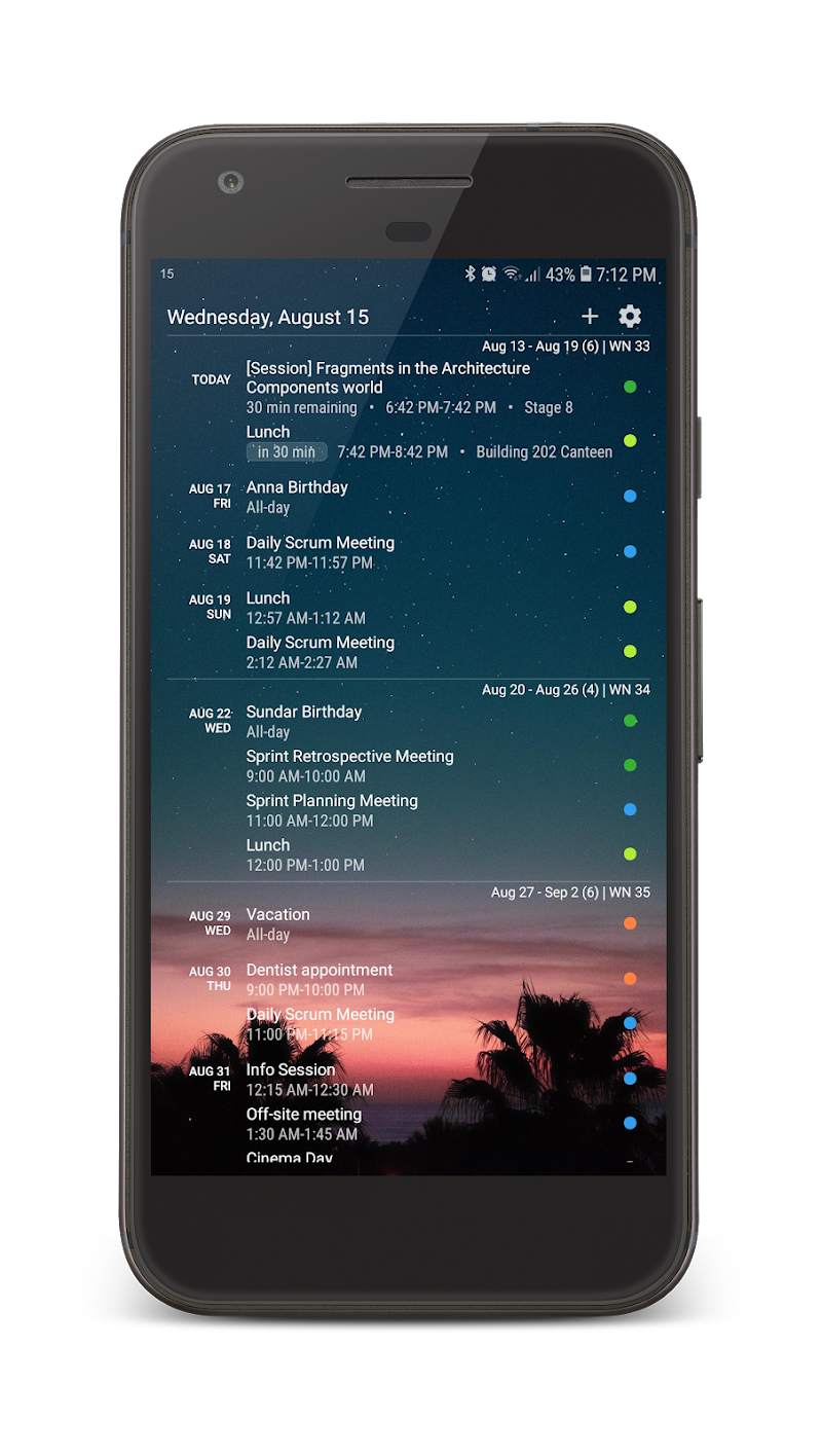 Your Calendar Widget Screenshot 3