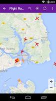 Screenshot of Singapore Flight Info