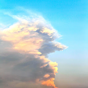 Big, big smoker by Cristobal Garciaferro Rubio - Instagram & Mobile iPhone ( volcano, sky, popocatepetl, smoking volcano )