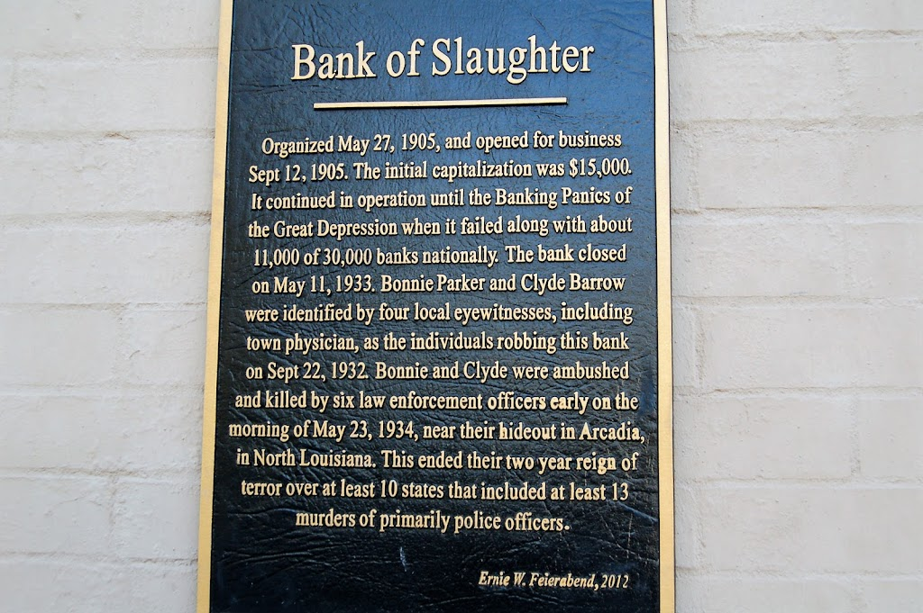 Organized May 27, 1905 and opened for business Sept. 12, 1905. The initial capitalization was $15,000. It continued in operation until the Banking Panics of the Great Depression when it failed along ...