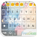 Free Glass Emoji Keyboard Skin APK baixar