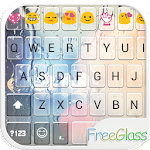 Free Glass Emoji Keyboard Skin 1.7 Apk
