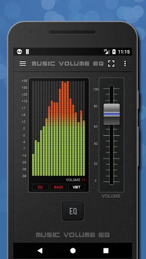 Music Volume EQ - Sound Bass Booster & Equalizer screenshot 1