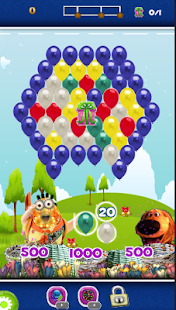 Balloon Bubble Shooter Eggnion - screenshot