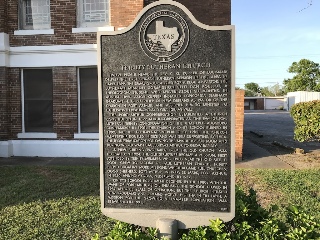 Twelve people heard the Rev. C. G. Kuppler of Louisiana deliver the last German Lutheran sermon in this area in early 1899. The small group applied for a regular pastor;  the Lutheran Mission ...