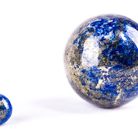 Lapis Lazuli by Joseph Callaghan - Artistic Objects Other Objects ( crystals, balls, gems, eggs, blue )
