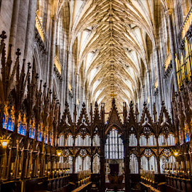 Winchester Cathedral by Dub Scroggin - Buildings & Architecture Places of Worship ( southampton, church of england, gothic cathedral, jane austen, winchester cathedral )