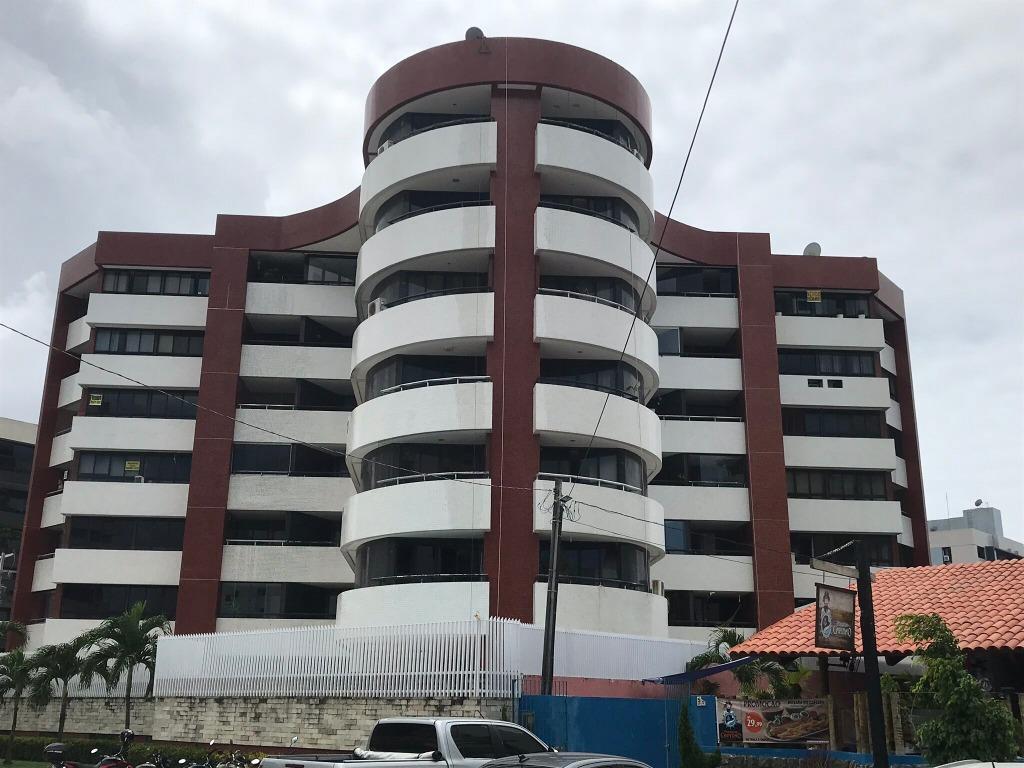 Apartamento com 4 dormitórios para alugar, 143 m² por R$ 2.100/mês - Cabo Branco - João Pessoa/PB
