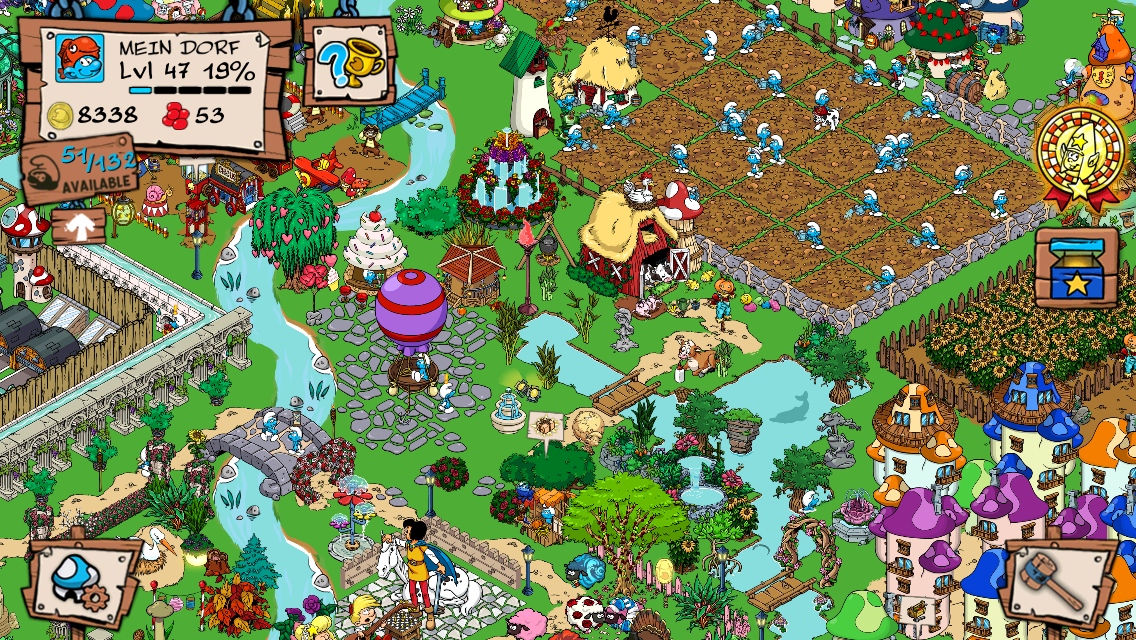 Smurfs' Village Screenshot 5