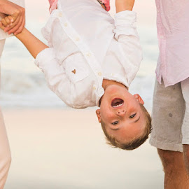 Upside Down by Marco Vergara - Babies & Children Children Candids