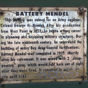 BATTERY MENDEL This battery was named for an Army engineer,Colonel George H. Mendel. After his graduationfrom West Point in 1852, he began a long careerin planning and designing military ...