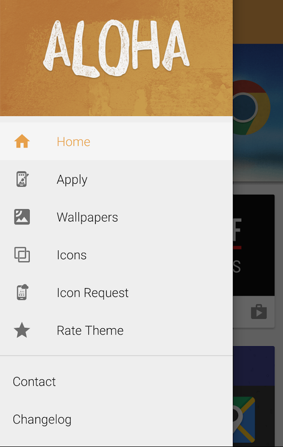 Aloha Icon Pack Screenshot 3