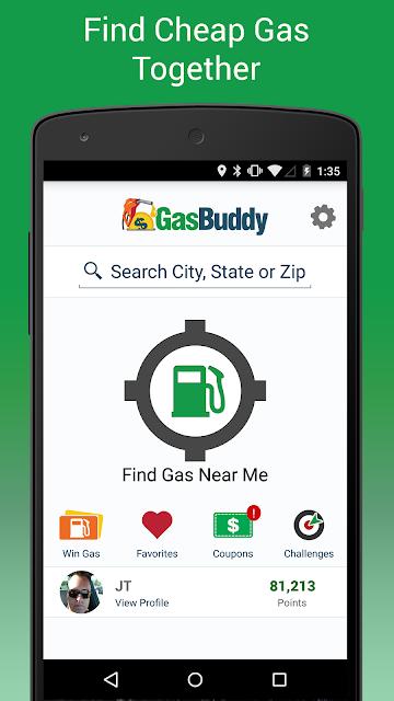 GasBuddy - Find Cheap Gas screenshots