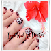 Toe Nail Art Design Icon