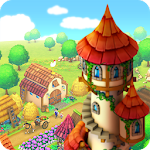 Town Village: Farm, Build, Trade, Harvest City Icon