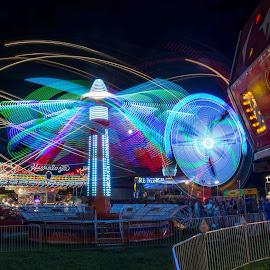 by Adam C Johnson - City,  Street & Park  Amusement Parks