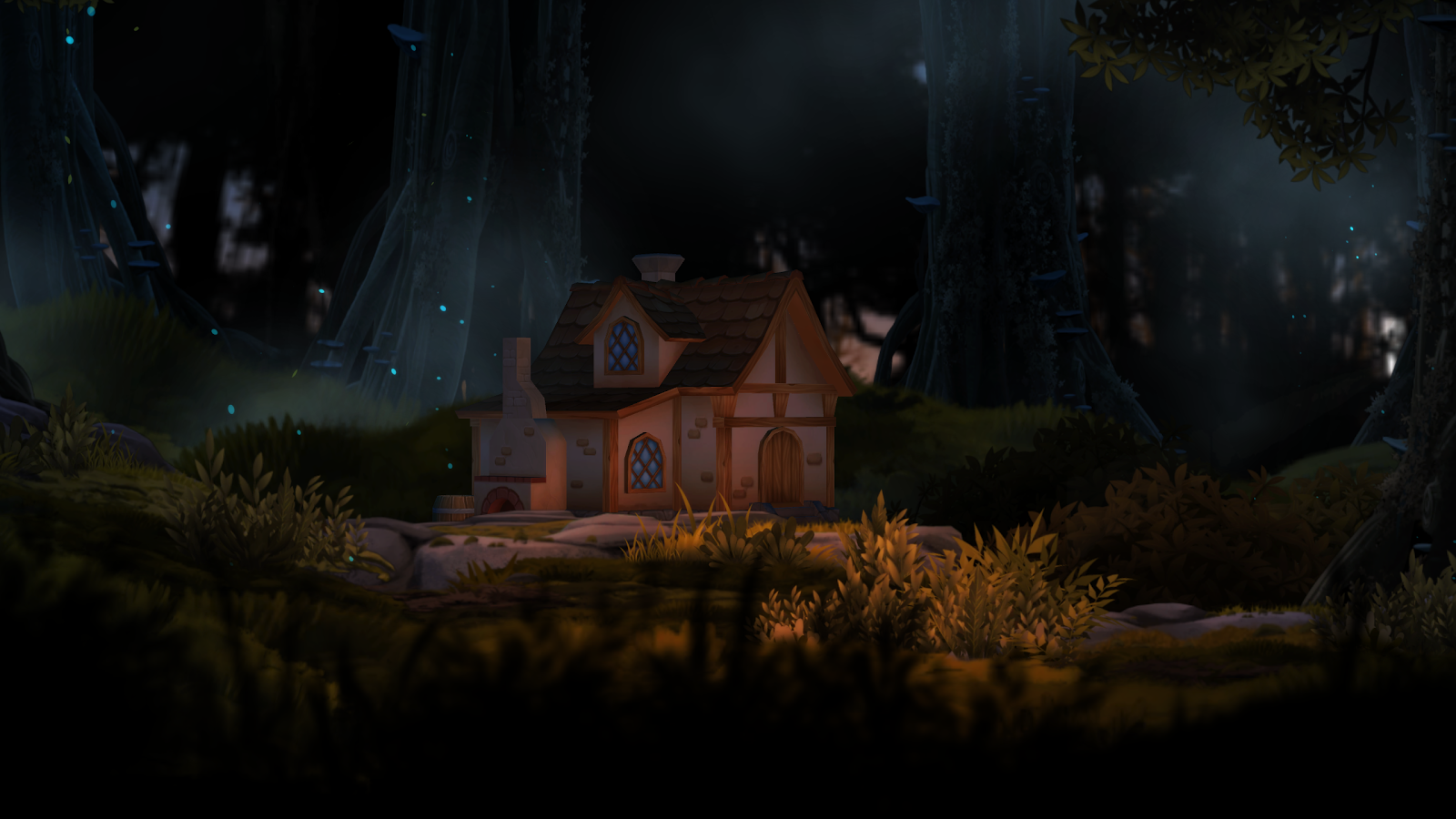 3D Forest House Full LWP Screenshot 10