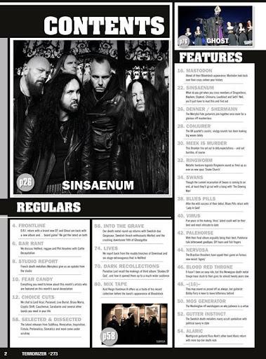 Terrorizer Magazine - screenshot