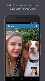 Text Me - Free Texting & Calls- screenshot thumbnail