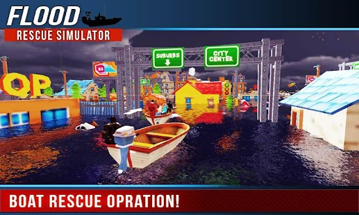 Flood Rescue Simulator - screenshot