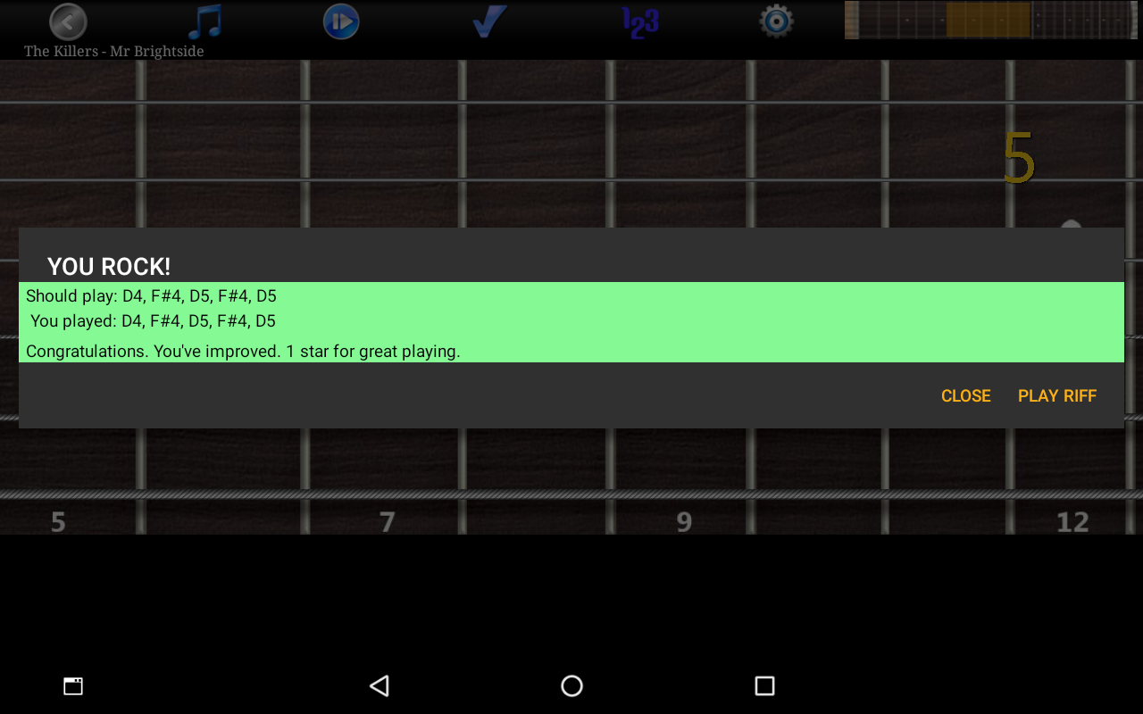 Guitar Riff Pro Screenshot 9