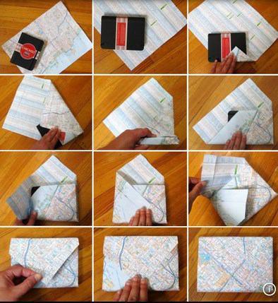 Как бумагой упаковать подарок 71
