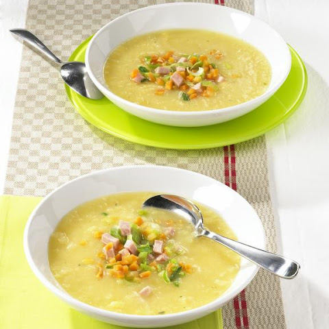 Potato and Smoked Ham Soup