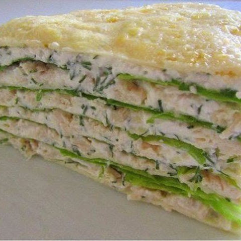 Protein Cake With Chicken Breast
