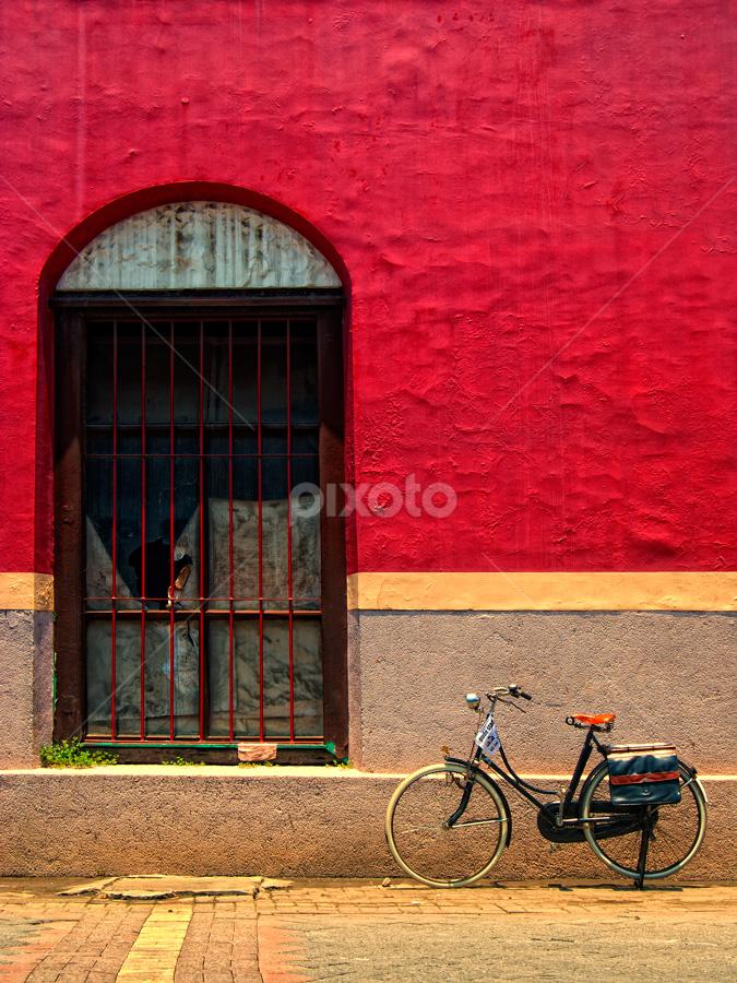 solitude by Ayah Adit Qunyit - City,  Street & Park  Street Scenes (  )