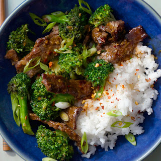 Broccoli and Beef With Oyster Sauce