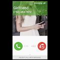 App Fake Call Girlfriend prank apk for kindle fire