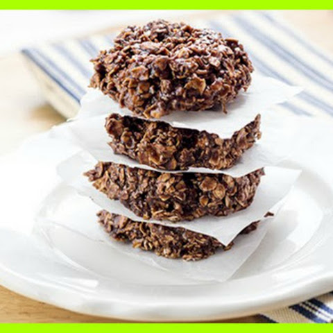 No Bake Chocolate Protein Cookies