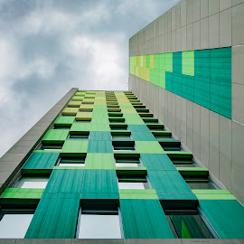 Architectural Degrade by Andrius La Rotta Esquivel - Buildings & Architecture Other Exteriors ( amazing, buildings, exterior, photographer, architectural, photography, colombia, architecture )
