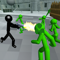 Game Stickman Zombie Shooting 3D apk for kindle fire