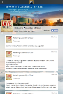 Kettering Assembly of God - screenshot